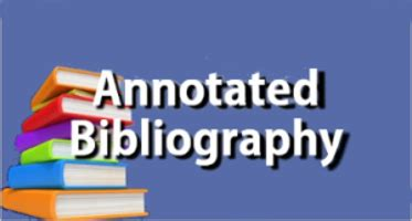 A example of annotated bibliography